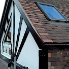 <p>Side Dormer roof complete with mock Tudor timbers matching the existing front gable.</p>
