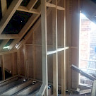 <p>Side dormer internal split , one side will house the en-suite , the other the stairs.</p>