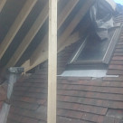 <p>The roof at the back was turned into a gable end creating more room inside the roof space.</p>